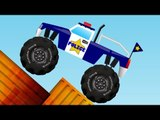 Police Monster Truck | Monster Truck | Monster Truck Stunts