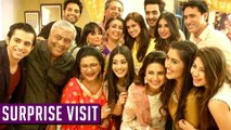 Mihika Verma's SURPRISE VISIT On Ye Hai Mohabbatein Set