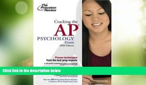Price Cracking the AP Psychology Exam, 2008 Edition (College Test Preparation) Princeton Review On
