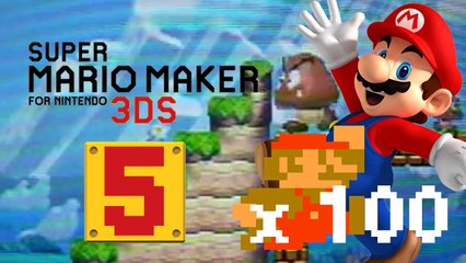 Lets Play - Super Mario Maker 3DS ONLINE [05] 100 Mario Challenge