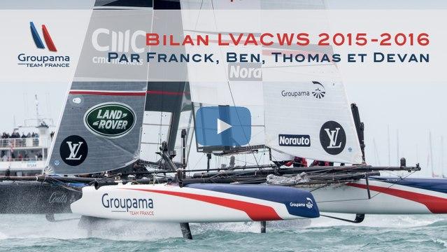 2015-2016 : Bilan des Louis Vuitton America's Cup World Series