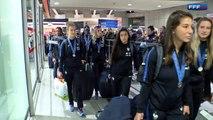 Les vice-championnes du monde U20 Féminines de retour en Fra