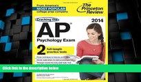 Best Price Cracking the AP Psychology Exam, 2014 Edition (College Test Preparation) Princeton