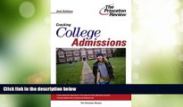 Price Cracking College Admissions, 2nd Edition (College Admissions Guides) Princeton Review For