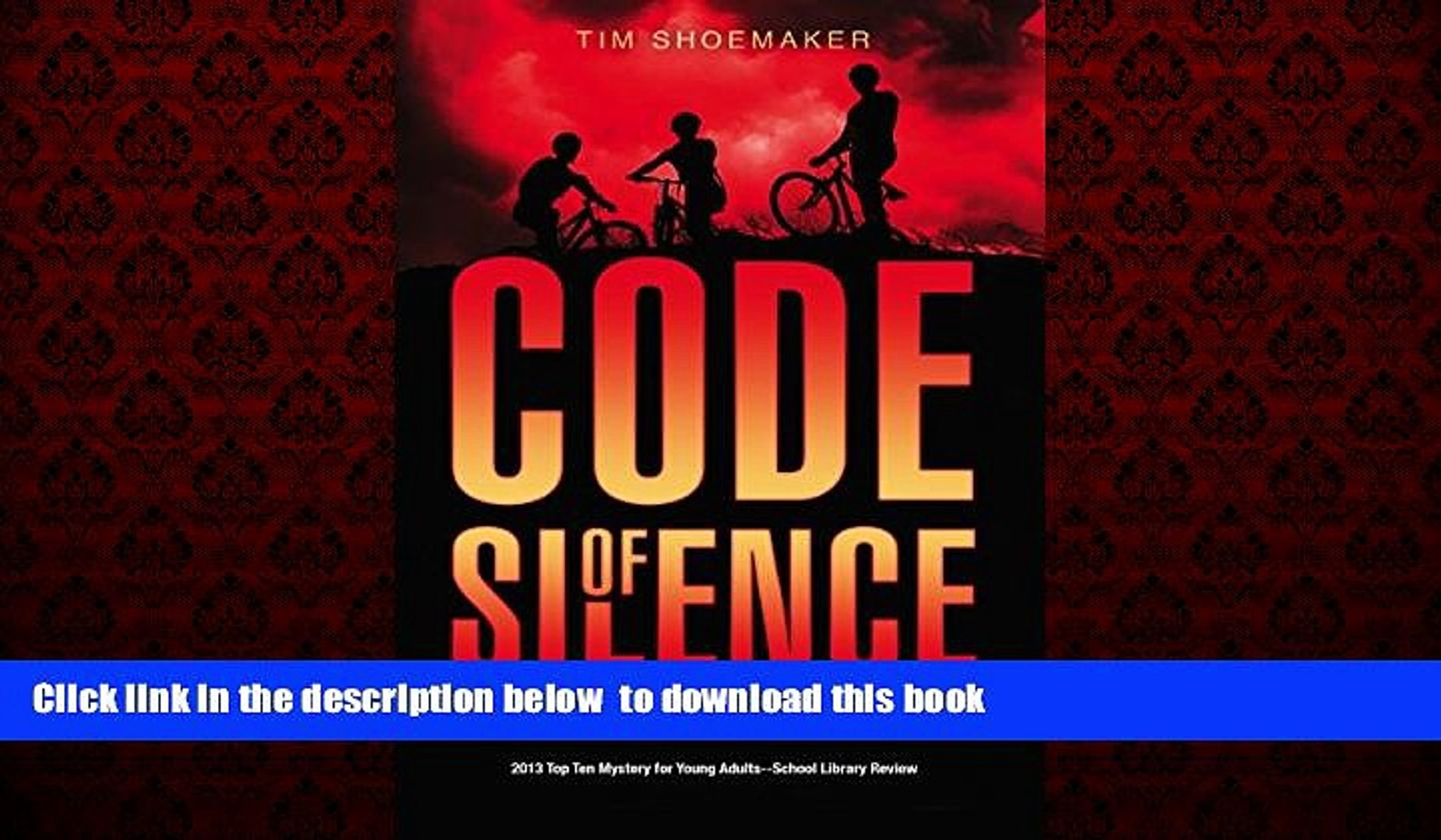 Pre Order Code of Silence: Living a Lie Comes with a Price (A Code of Silence Novel) Tim Shoemaker