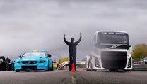 Carrera entre dos gigantes de Volvo: The Iron Night vs Volvo S60 de carreras