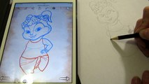 Рисуем Элвин и бурундуки Eleanor Miller Draw Alvin and the chipmunks Eleanor Miller