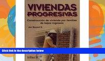 Pre Order Viviendas progresivas/ Progressive Homes: Construccion De Vivienda Para Familias De
