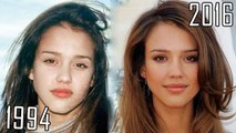 Jessica Alba (1994-2016) all movies list from 1994! How much has changed? Before and Now! Machete, Awake, Valentine's Day, The Eye, Sin City: A Dame to Kill For, Honey, Into the Blue, Sin City