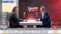 Gilbert Collard chahute Jean-Jacques Bourdin en direct - ZAPPING ACTU DU 07/12/2016