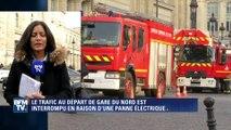 Paris: le trafic interrompu à Gare du Nord en raison d'une panne électrique