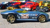 Hot Wheels Fast FeLion Diecast Race Car by Mattel - Auto Racing Toys Cars Collection