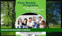 Audiobook Peer Buddy Programs for Successful Secondary School Inclusion  On Book