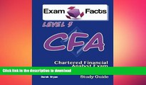 Hardcover Exam Facts CFA - Chartered Financial Analyst Level 3 Exam Study Guide: CFA Level 3 Exam