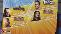 "WWE FIGURE INSIDER: Chris Jericho - WWE ""WrestleMania 33"" Series Toy Wrestling Action Figure"