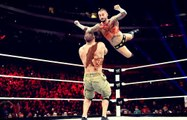 John Cena VS CM Punk,The Rock  attacked by CM Punk and Big Show , Rock Save Cena RAW