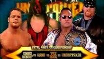 WWE Unforgiven 2000: The Undertaker vs Kane vs The Rock vs Chris Benoit - Lucha Fatal De 4 Esquinas Por El Campeonato De WWE