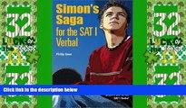Price Simon s Saga for the New SAT Verbal Philip Geer PDF