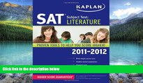 Price Kaplan SAT Subject Test Literature 2011-2012 (Kaplan SAT Subject Tests: Literature) Kaplan