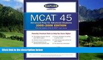 Price MCAT 45, 2005-2006 (Kaplan Mcat 45) Kaplan On Audio