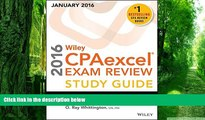 Price Wiley CPAexcel Exam Review 2016 Study Guide January: Regulation (Wiley Cpa Exam Review) O.