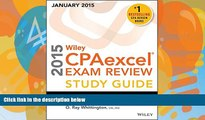Price Wiley CPAexcel Exam Review 2015 Study Guide (January): Regulation (Wiley Cpa Exam Review) O.