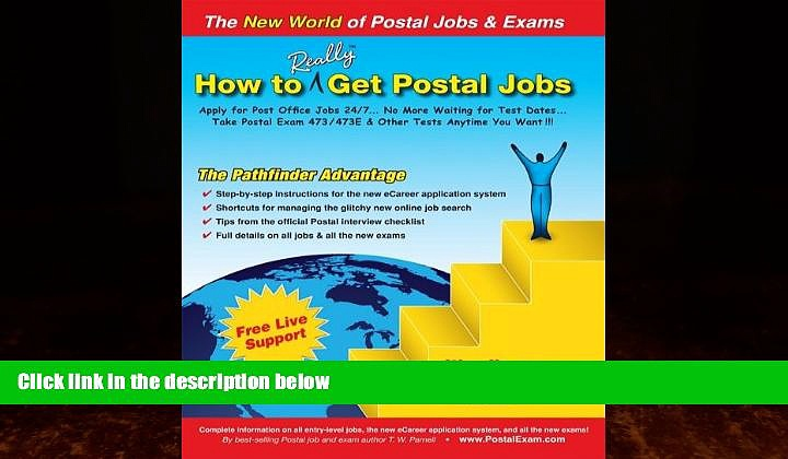 Best Price How to Really Get Postal Jobs: Apply for Post Office Jobs 24/7 … No More Waiting for
