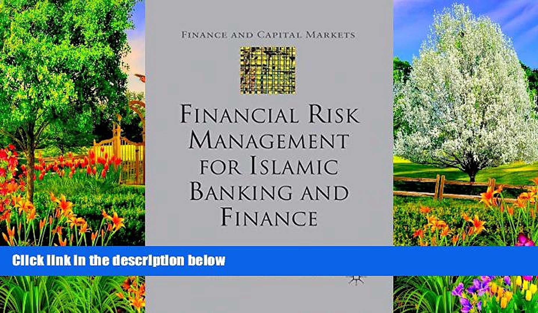 Online I. Akkizidis Financial Risk Management for Islamic Banking and Finance (Finance and Capital