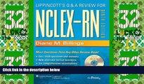Best Price Lippincott s Q A Review for NCLEX-RN® (Lippioncott s Review for Nclex-Rn) Diane M.