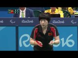 Table Tennis | GER v CHN | Women's Singles -Qualification Class 8 Group A| Rio 2016 Paralympic Games