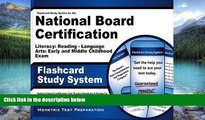 Best Price Flashcard Study System for the National Board Certification Literacy: Reading -