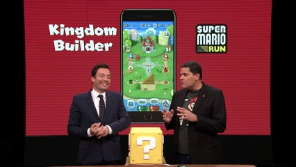 Jimmy Fallon Debuts the Nintendo Switch de