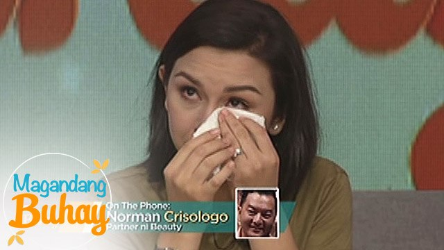Magandang Buhay: Beauty gets emotional with Norman's message