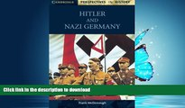 Hardcover Hitler And Nazi Germany
