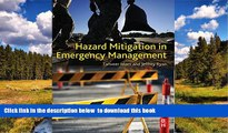PDF [DOWNLOAD] Hazard Mitigation in Emergency Management READ ONLINE