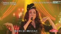 JUJU * believe believe - feat  BURLESQUE TOKYO   from FNS Song Festival 2016
