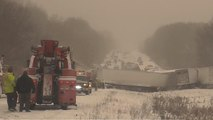 Snow and cold weather bring dangerous travel conditions