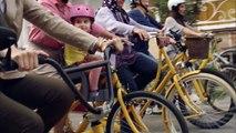 Bisikletli ve Mutlu Kadınlar – Eti Sarı Bisiklet