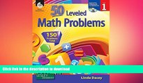Hardcover 50 Leveled Math Problems Level 1 On Book