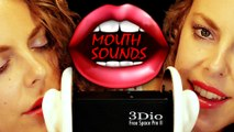 Soft & Wet ASMR Mouth Sounds Ear to Ear Binaural with Gentle Whisper, Click, Sk Sounds