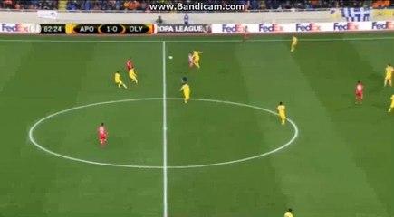 Goal HD - APOEL Nicosia 2-0 Olympiacos 08-12-2016