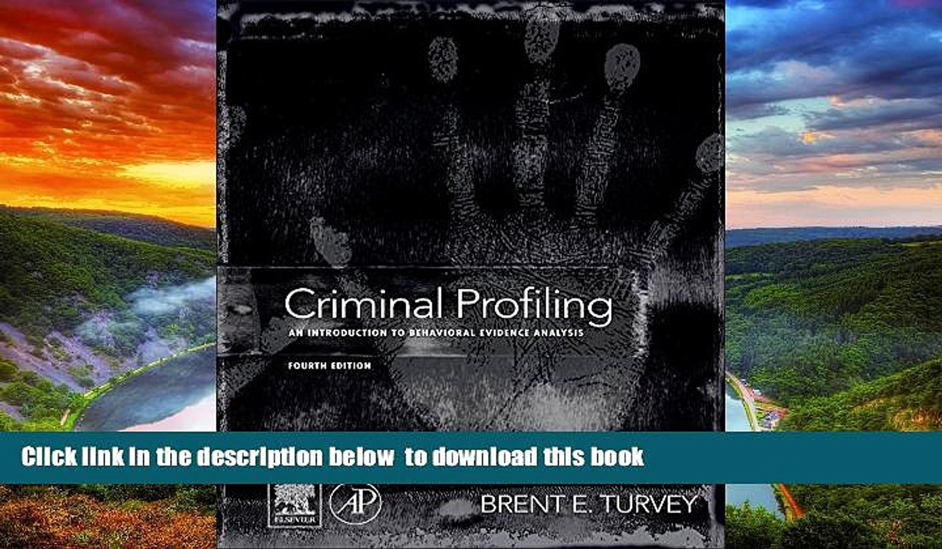 PDF [FREE] DOWNLOAD Criminal Profiling, Fourth Edition: An Introduction to  Behavioral Evidence