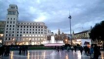 Plaça de Catalunya | Placa Catalunya | Barcelona Spain 2016 | 1080p