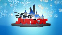 419-Disney Junior With Christmas & New Year Fireworks Spoof Pixar Lamp Luxo Jr Logo