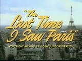 The Last Time I Saw Paris (1954) - Elizabeth Taylor, Van Johnson and Walter Pidgeon - Trailer (Drama, Romance))