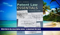 PDF [FREE] DOWNLOAD  Patent Law Essentials: A Concise Guide, 4th Edition READ ONLINE