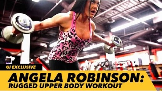 Angela Robinson's Rugged Upper Body Workout | Generation