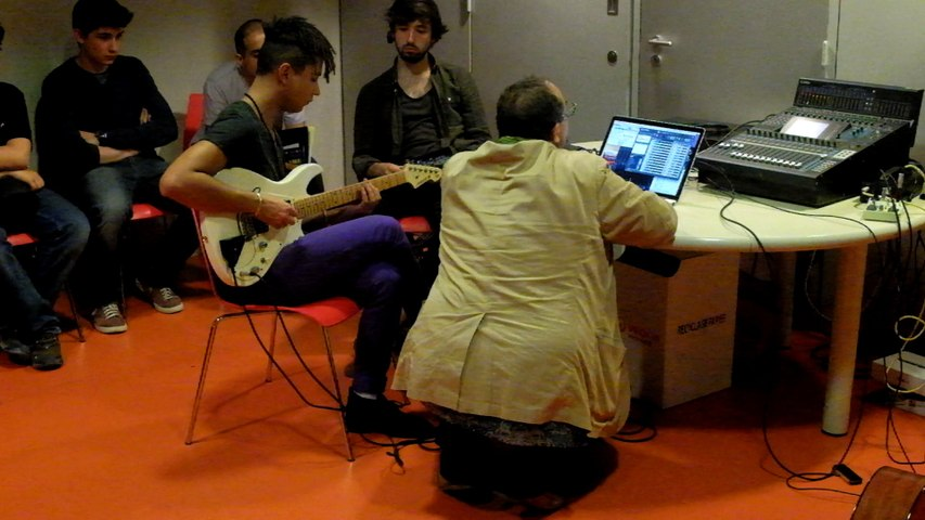 SoMax Ircam JPO 2015 guitare augmentée