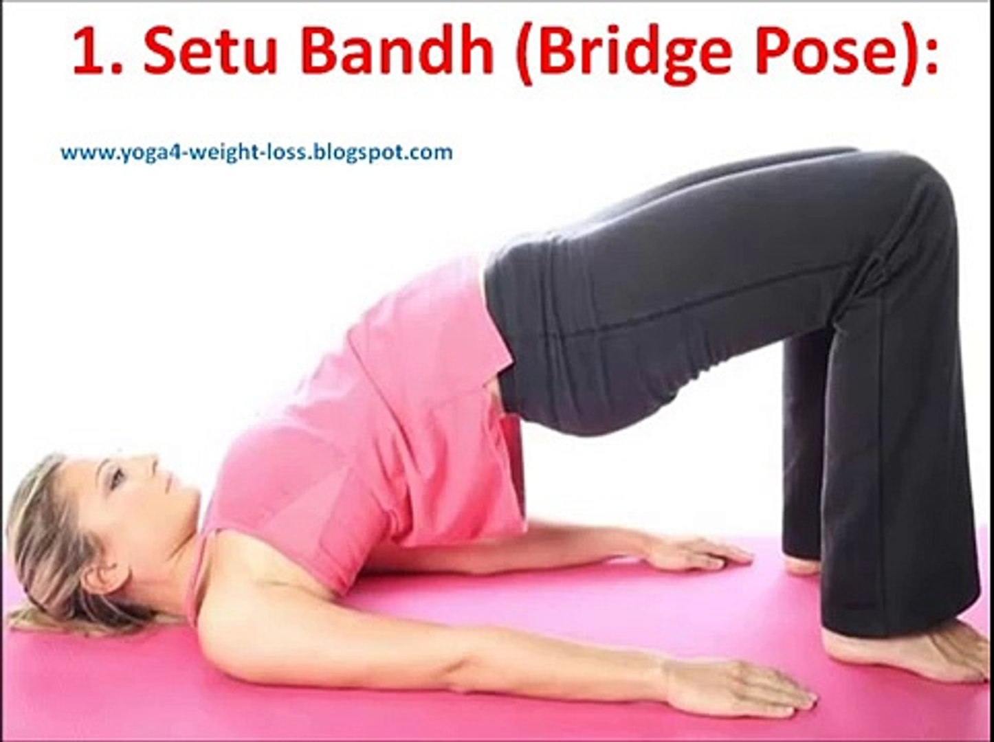 Yoga asanas for losing weight naturally and quickly - video