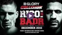 Voir Combat Badr Hari vs Rico Verhoeven samedi 10/12/2016 / Live streaiming